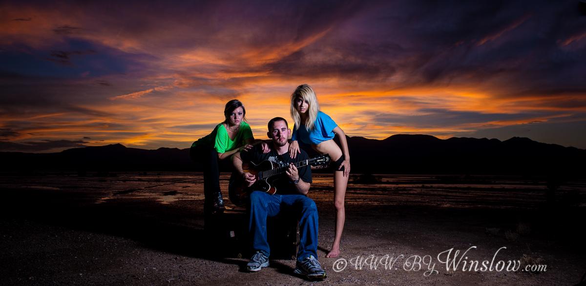 Garret Winslow- bywinslow.com Kids & SeniorsChristopher-Lakebed-sunset-1