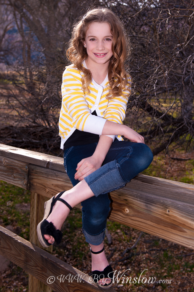 Garret Winslow- bywinslow.com Kids & SeniorsGirl-on-a-Fence-1